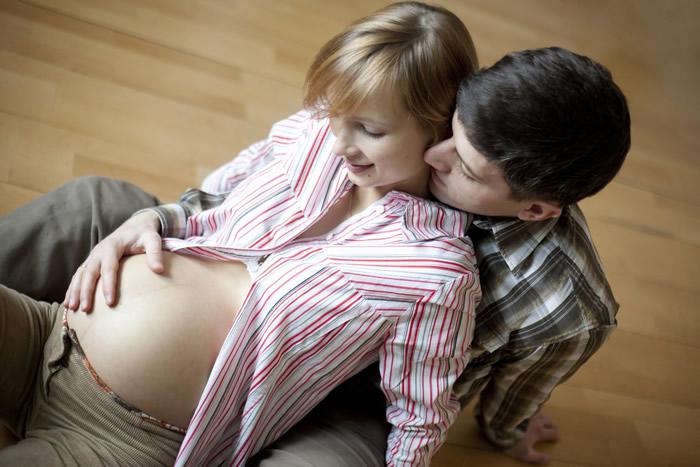 Préparation à l'accouchement en couple